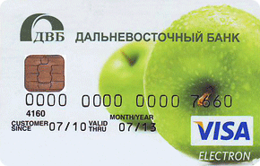 Кредитная Electron
