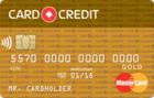 Card Credit Gold с ежемесячной комиссией за обслуживание